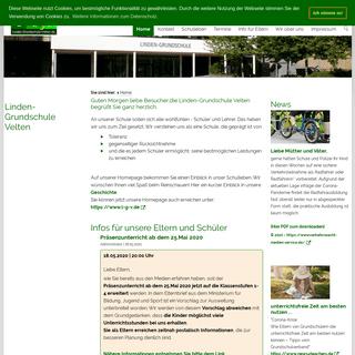Linden-Grundschule Velten - Home