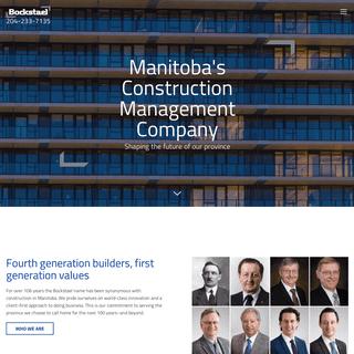 Manitoba Construction Company - Construction Management Winnipeg