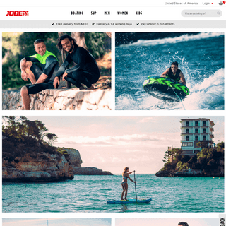 Jobe® Watersports - Official Website and Shop - Jobesports.com