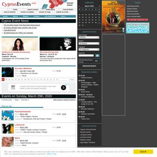 ArchiveBay.com - cyprusevents.net - Cyprus Events