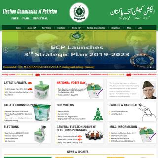 ECP - Election Commission of Pakistan