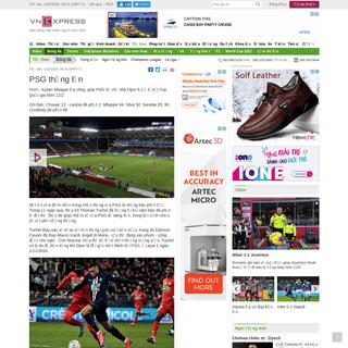 PSG thắng lớn - VnExpress Thể Thao