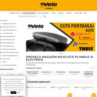 ProVelo - Magazin de biciclete pliabile si electrice in Bucuresti