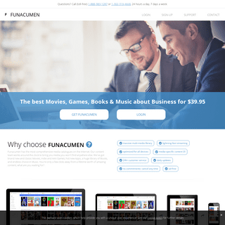 funacumen - Unlimited Movies, Games, Music and E-books