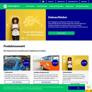clickandprint.de - Wir bedrucken (fast) alles und liefern schnell!