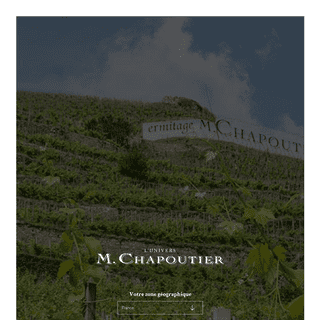 Vente de vin en ligne, M.Chapoutier - producteur vin biodynamie