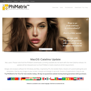 ArchiveBay.com - phimatrix.com - PhiMatrix - Golden Ratio Design and Analysis Software