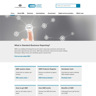Standard Business Reporting - An Australian Government Initiative