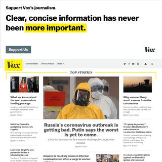 Vox - Understand the News