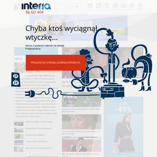 Interia - Polska i świat- informacje, sport, gwiazdy.