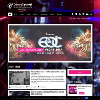 DanceControl - Electronic Music Community