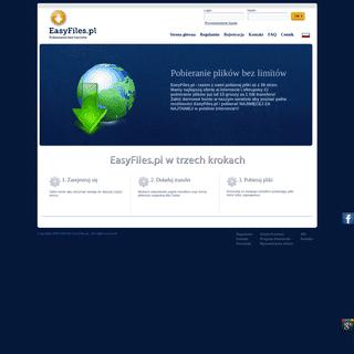 EasyFiles.pl - pobieranie plików bez limitów, no premium, tanie konto premium za sms