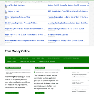 Learn Forex Trading Make Money Online