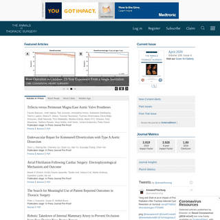 Home Page- The Annals of Thoracic Surgery