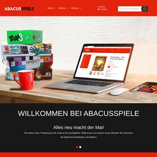 Abacusspiele - Willkommen im Online-Shop für Ihre Lieblingsspiele -