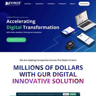 EvinceDev - Global IT solution Leader - Digital Transformation