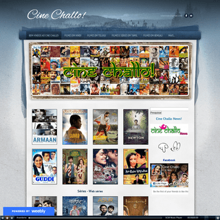 Cine Challo! - Bem-vindos ao Cine Challo!