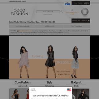 Coco-Fashion - Elegant Women's Clothing - European Fashion