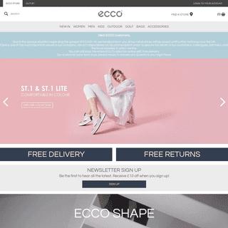 ECCO Shoes for Men, Women & Kids - Official UK Online Store