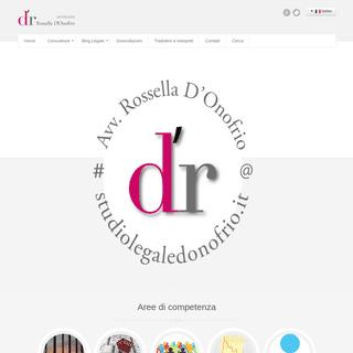 Home - Studio Legale D'Onofrio