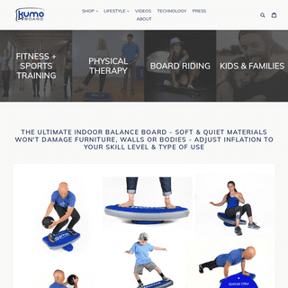 Kumo Board - The Inflatable Balance Trainer for FUNctional Fitness