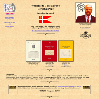 ArchiveBay.com - norbyhus.dk - Toke Norby's Homepage - index.php - 02.02.2020