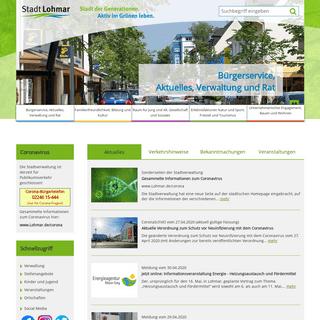 Stadt Lohmar -- Startseite