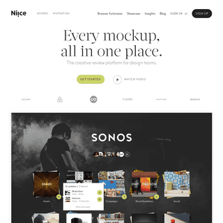 Niice - The creative review platform for dynamic design teams