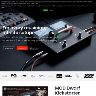 A complete backup of moddevices.com