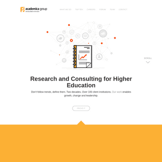 Academica Group - Research and Consulting for Higher Education