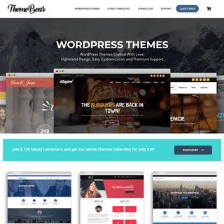 ThemeBear - WordPress Themes and Templates