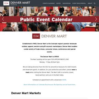 Home Page - Denver Mart