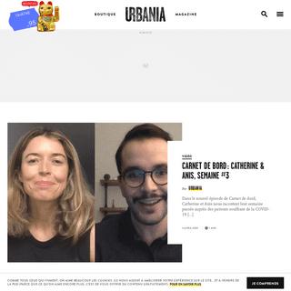 URBANIA - Rendre l'ordinaire extraordinaire