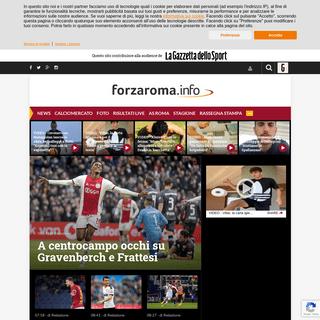 Forzaroma.info - Ultime notizie As Roma calcio – Interviste, foto e video - Forzaroma.info
