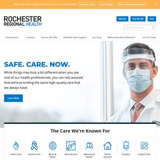 Rochester Regional Health - Rochester Regional Health