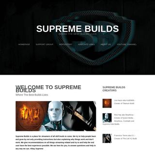 Supreme Builds