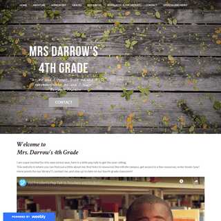 A complete backup of darrow4thgrade.weebly.com