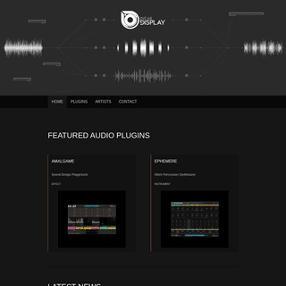 Home - Inear Display Creative VST and Audio Unit Plugins