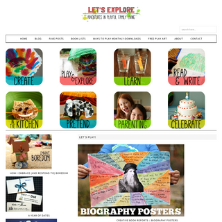 Let's Explore - Adventures in Playful Family Living