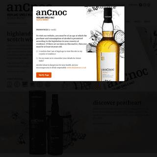 anCnoc - Highland Single Malt Scotch Whisky