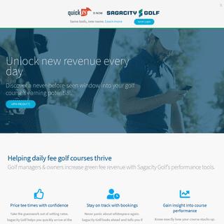 Unlock new golf course revenue every day - Sagacity Golf