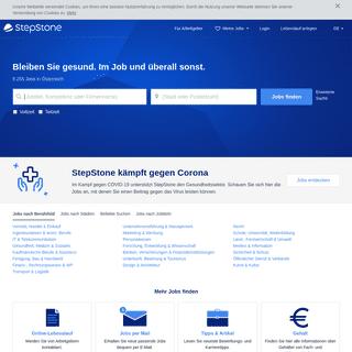 ArchiveBay.com - stepstone.at - Jobbörse StepStone - Stellenangebote in Österreich