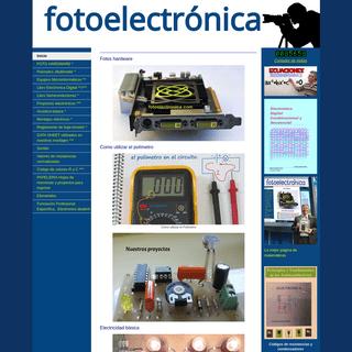 fotoelectrónica - Electrónica y electricidad para estudiantes y profesionales