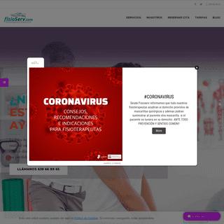 ArchiveBay.com - fisioserv.com - Fisioterapia a Domicilio en Madrid - Fisioterapia en empresas - FisioServ