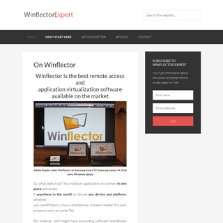 Winflector Expert – The authoritative resource for all things Winflector