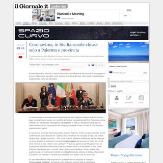 Coronavirus, in Sicilia scuole chiuse solo a Palermo e provincia - IlGiornale.it