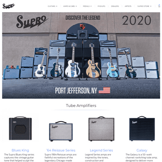 Supro – Discover the Legend