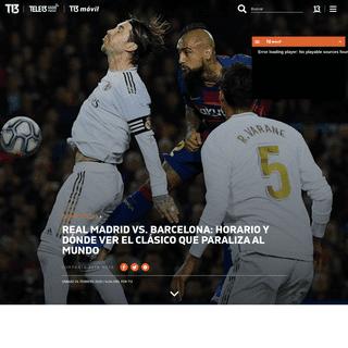 A qué hora juegan Real Madrid y Barcelona en el clásico español - Tele 13
