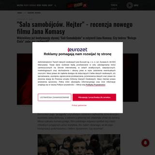 Sala samobójców. Hejter- Jan Komasa znów zachwyca [RECENZJA] - Antyradio.pl