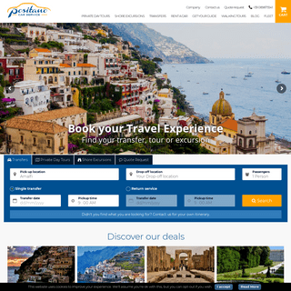 ArchiveBay.com - positanocarservice.com - Tours and transfers to Pompeii and Amalfi Coast - Cars with chauffeur Positano